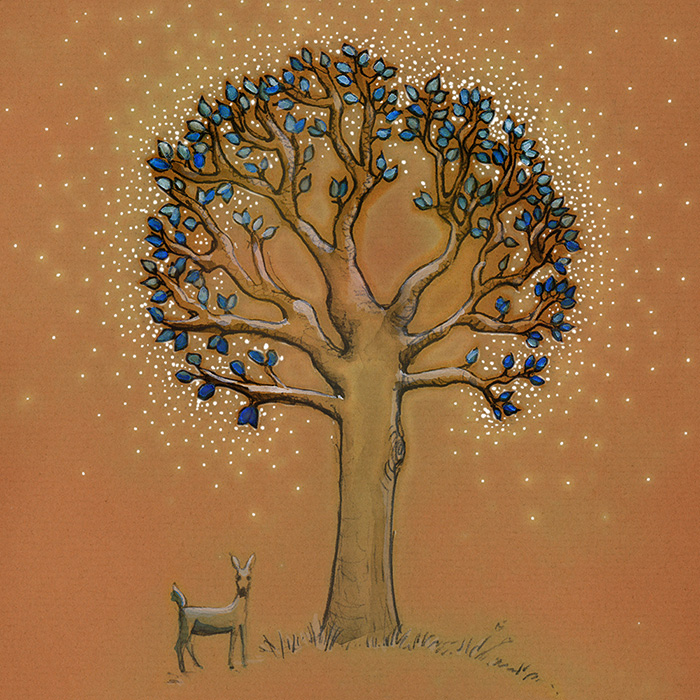 deer tree by rebecca mcburney